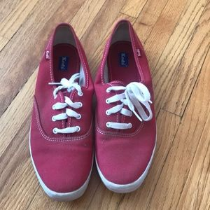 Red keds barely worn women's size 11
